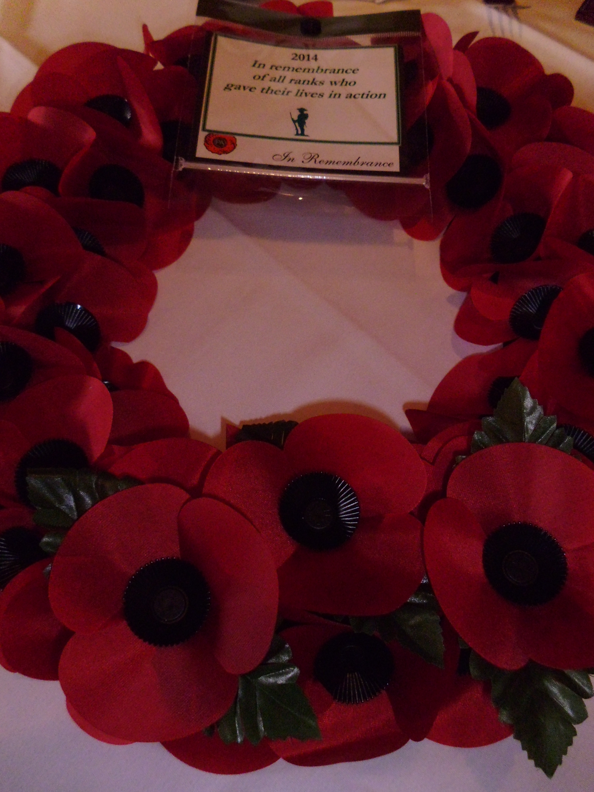Remembrance Day Buffet lunch